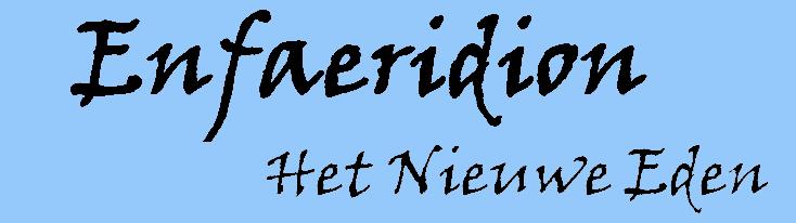 Enfaeridion – Het Nieuwe Eden